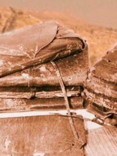 Old Coptic book in the Nag Hammadi style